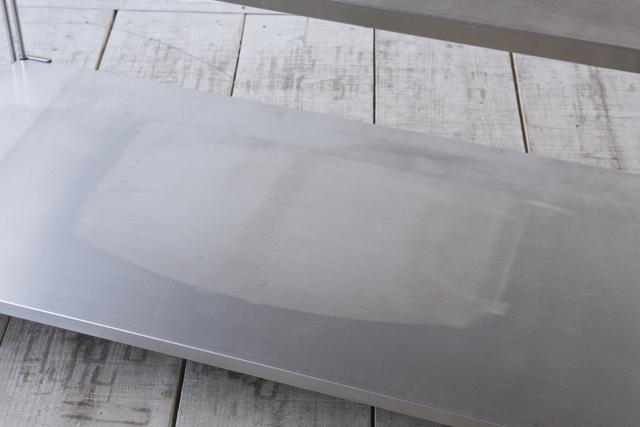 無印良品の「ステンレスユニットシェルフ・ステンレス棚セット・ワイド・中」-03