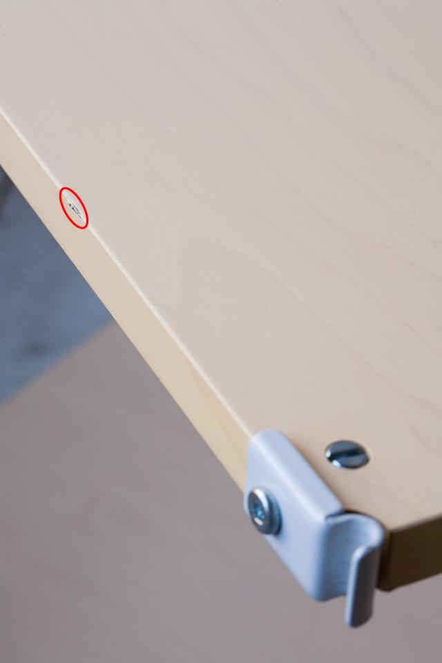 無印良品の「スチールユニットシェルフ・木製棚4段セット」-07a