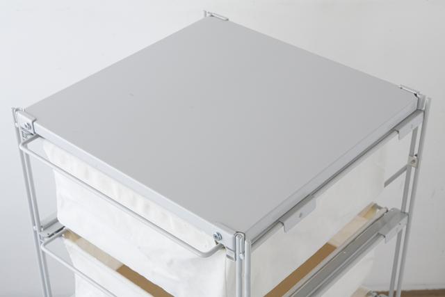 無印良品の「スチールユニットシェルフ帆布バスケットセット・スチール棚板・幅42cmタイプ」-04