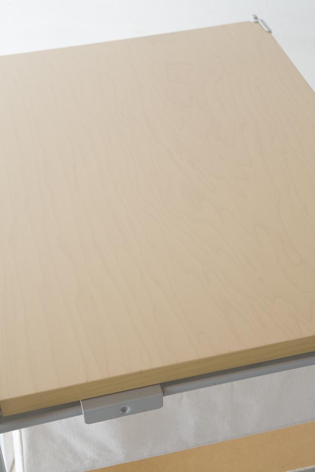 無印良品・スチールユニットシェルフ帆布バスケットセット・木製棚板・幅56cmタイプ-07