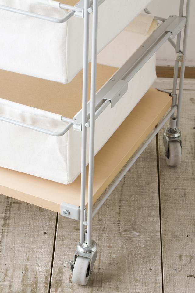 無印良品・スチールユニットシェルフ帆布バスケットセット・木製棚板・幅56cmタイプ-10