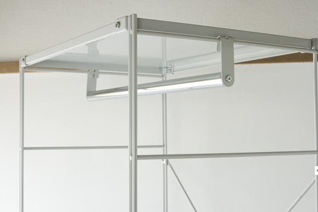 無印良品「スチールユニットシェルフ・ワードローブセット」-03
