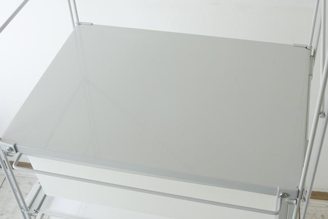 無印良品「スチールユニットシェルフ・ワードローブセット」-04
