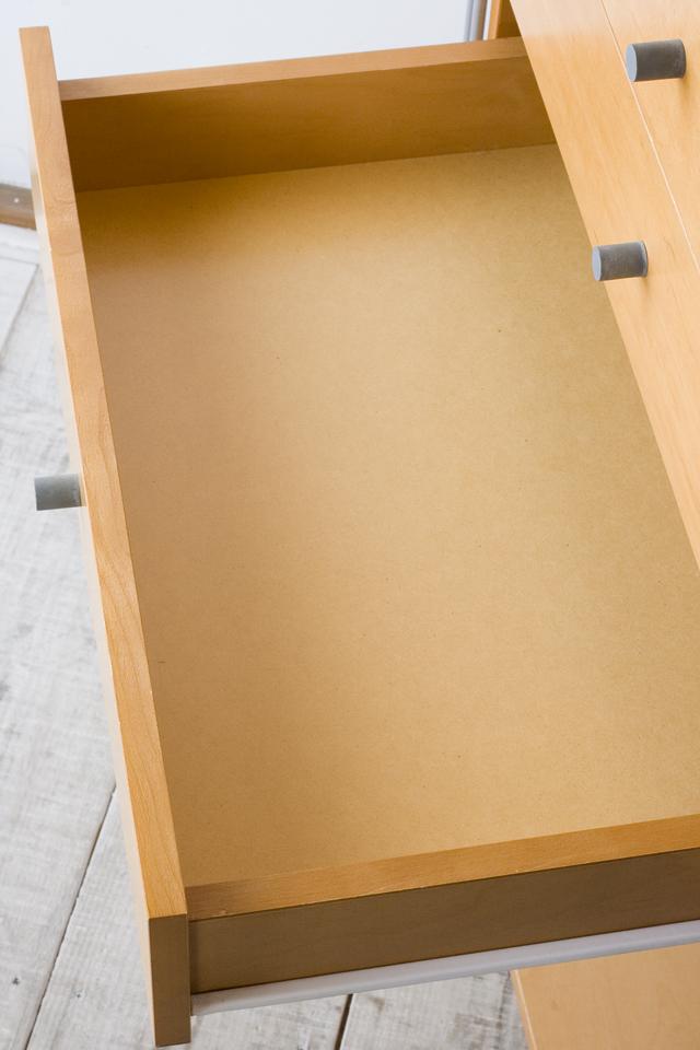 無印良品「スチールユニットシェルフ用・ボックス付セット」-05