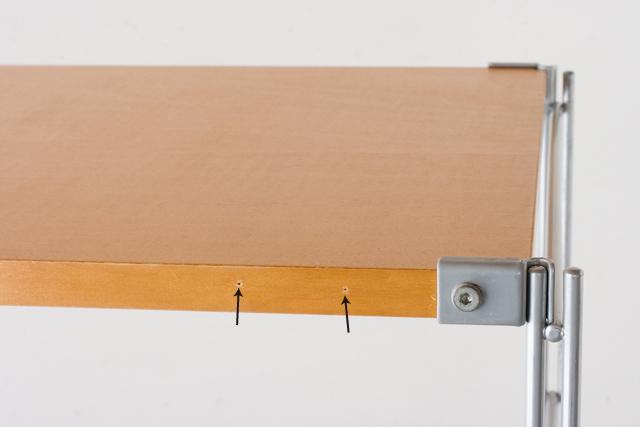 無印良品「スチールユニットシェルフ・メープル棚セット」-04a