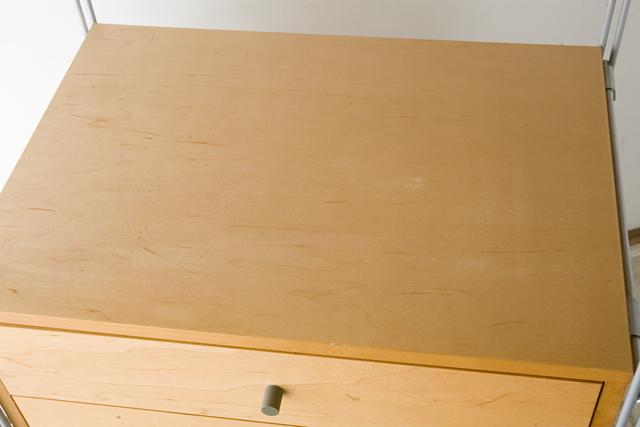 無印良品「スチールユニットシェルフ・メープル棚ワードローブセット」-04