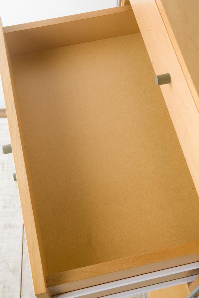 無印良品「スチールユニットシェルフ・メープル棚ワードローブセット」-09
