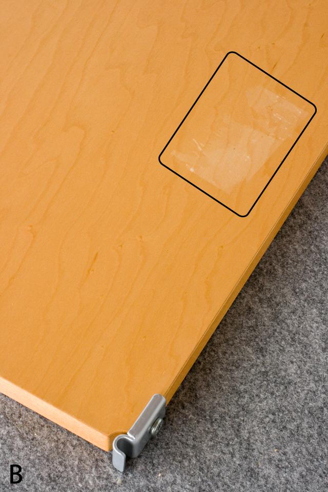 無印良品「スチールユニットシェルフ・メープル棚ワードローブセット」-16a
