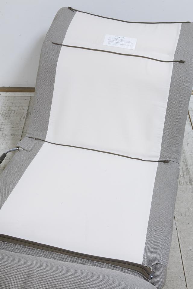 無印良品「ハイバックリクライニングソファ・1シーター」-09