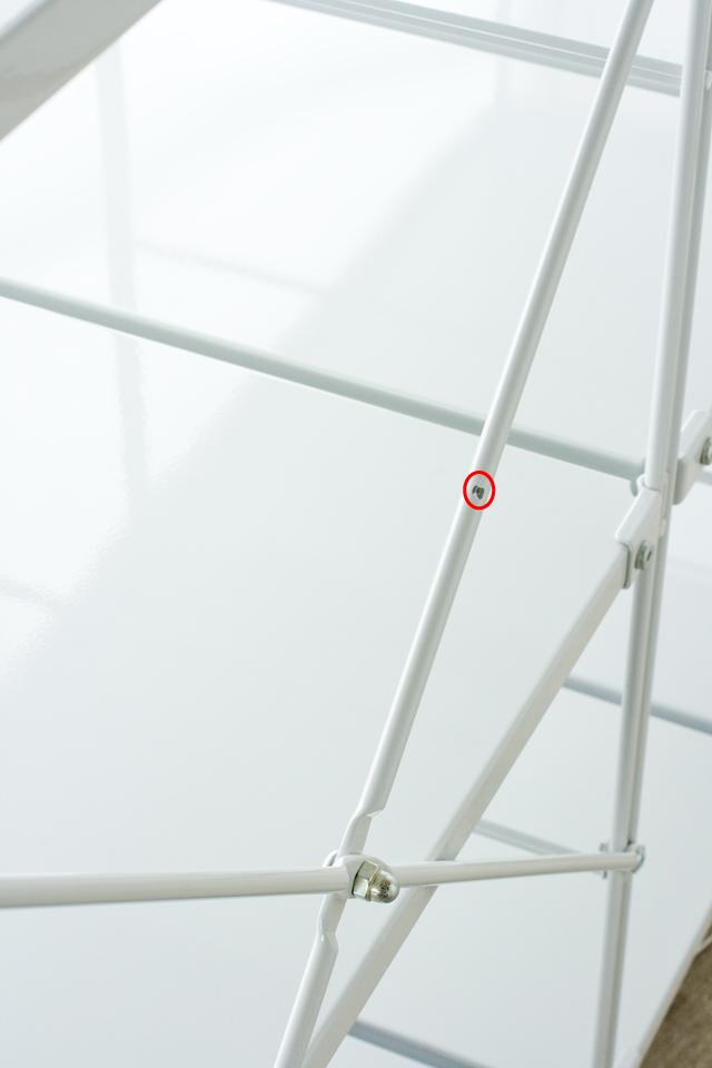 無印良品「スチールユニットシェルフ・グレー棚セット」-06a