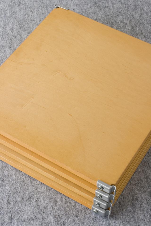 無印良品「スチールユニットシェルフ・メープル材棚セット」-06