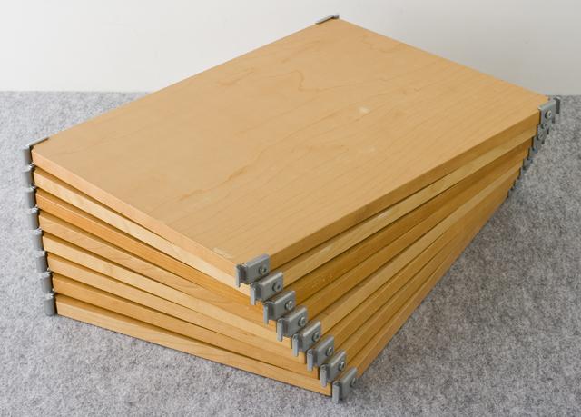 無印良品「スチールユニットシェルフ・メープル材棚セット」-07