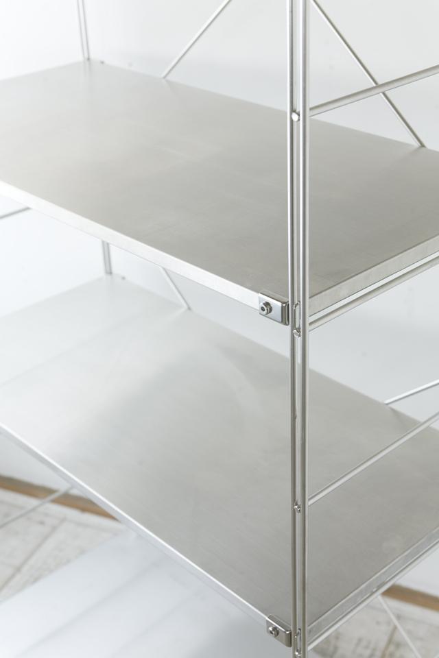 無印良品「ステンレスユニットシェルフ・ステンレス棚セット・ワイド・大」-03